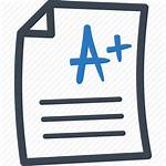 Exam Test Icon Grade Result Examination Education
