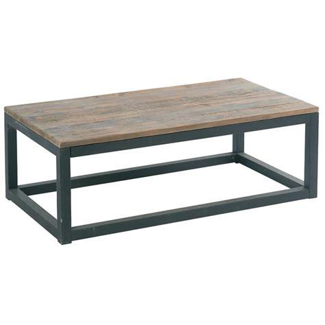canapé convertible en rotin table basse bois metal maison du monde wraste com
