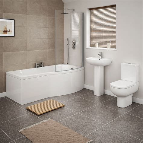 cruze  piece modern bathroom suite   victorian