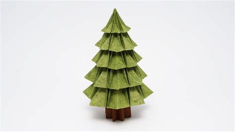 how to make a big christmas tree origami tree v2 jo nakashima