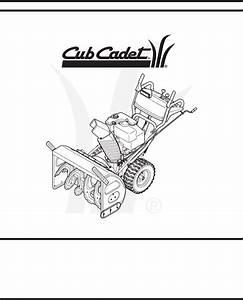 34 Cub Cadet Snow Blower Parts Diagram