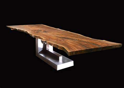 DE - SIGN OF THE TIMES: INCREDIBLE LIVE EDGE TABLES - MY