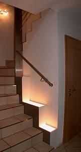 Treppengeländer Mit Glas : wandbefestigtes treppengel nder aus edelstahl ~ Markanthonyermac.com Haus und Dekorationen