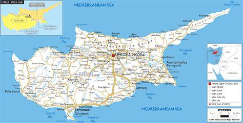 zypern karte provinzen
