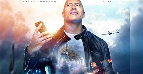 The Rock just revealed his latest action movie, co