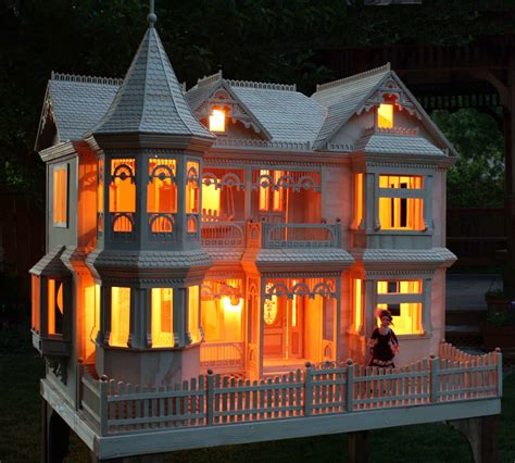 victorian barbie house woodworking plan forest street
