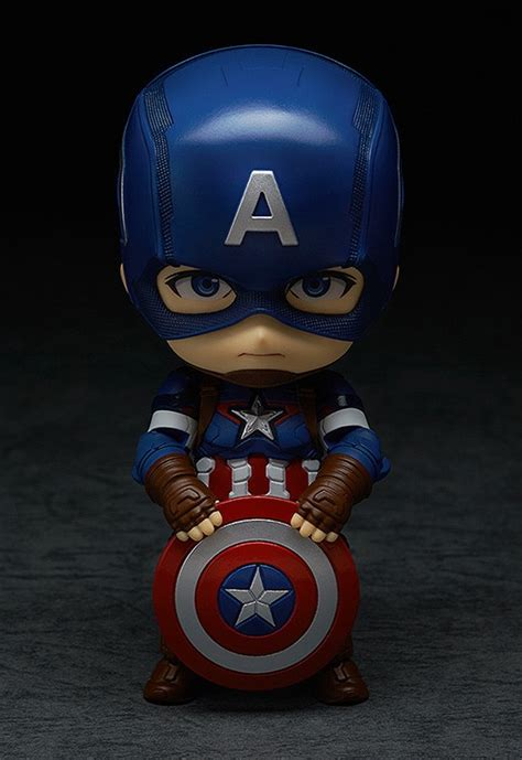 nendoroid captain america heros edition mightymega