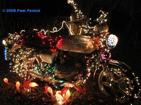 gallery motorcycle christmas lights