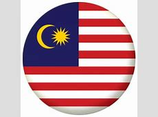 Malaysia Country Flag 25mm Pin Button Badge