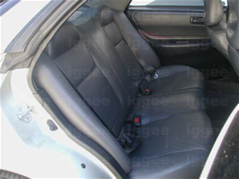 Acura Integra Seat Covers by Acura Integra 1990 2001 Iggee S Leather Custom Fit Seat