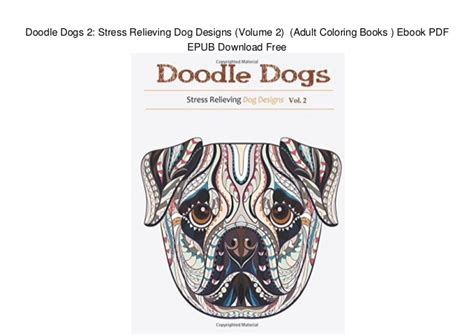 doodle dogs 2 stress relieving dog designs volume 2