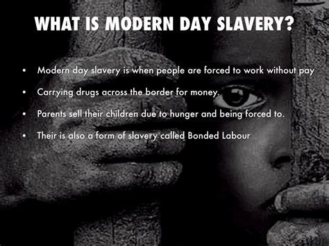 modern day slavery  james mills