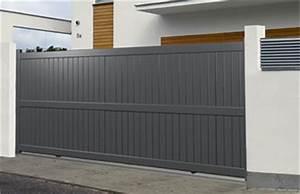 Portail 3 50m : portail coulissant 3 50m portail en acier galvanis ~ Premium-room.com Idées de Décoration