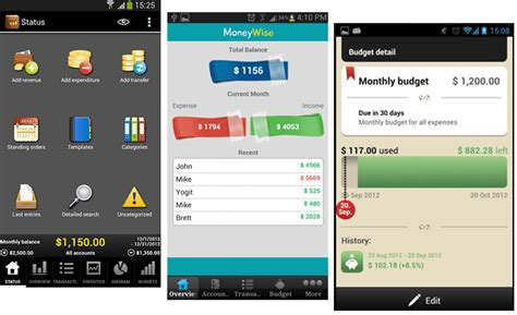 android budget app 2014 best android apps for personal finance