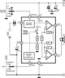 1w Btl Audio Amplifier