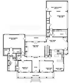 Bedroom Farmhouse Plans Photo by 653741 1 5 Story 4 Bedroom 3 5 Bath Southern Country