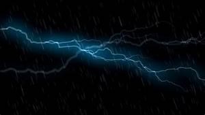 Thunder Storm and Rain Animation - Free HD Stock Footage ...