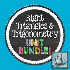 Learn the basics of trigonometry: Special Right Triangles Guided Notes for Right Triangles Unit (Geometry)   Special right ...