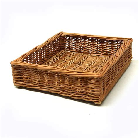 wicker tray by prestige wicker   notonthehighstreet.com