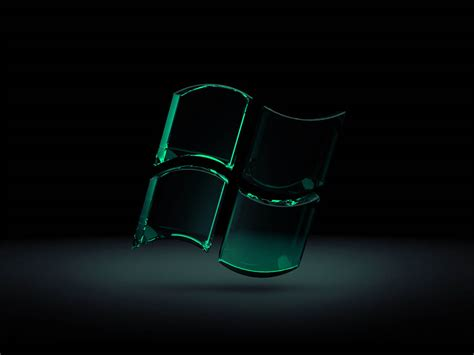 Wallpapers Windows Glass Logo