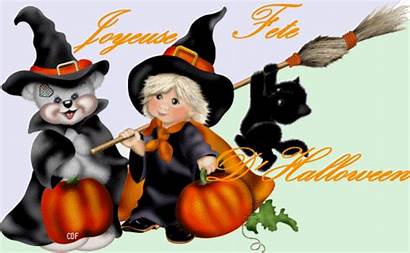 Halloween Happy Greetings French Cards Clipart Teddy