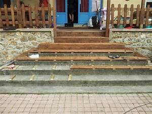 Recouvrir Escalier Béton : escalier exterieur en bois ~ Premium-room.com Idées de Décoration