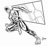 Coloring Daredevil Colouring Supajoe Marvel Cabal Sonic Goku Results Deviantart Popular sketch template