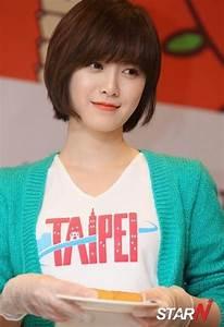 Ku hye sun still looks pretty even with her short hair ...