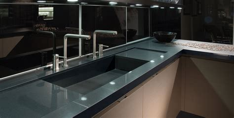 levantina black quartz countertop