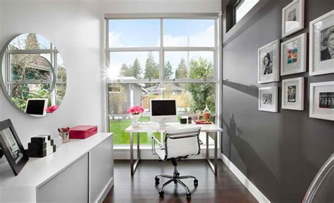 Modern Home Design Ideas Gray by 15 Ideas For Contemporary Gray Home Office Designs Home