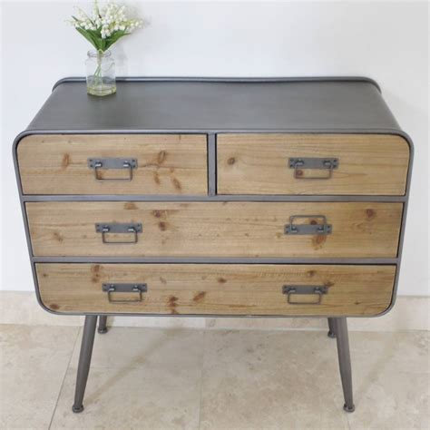 chest of drawers industrial factory chest of drawers by cambrewood Industrial