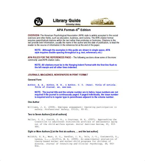reference list templates    premium