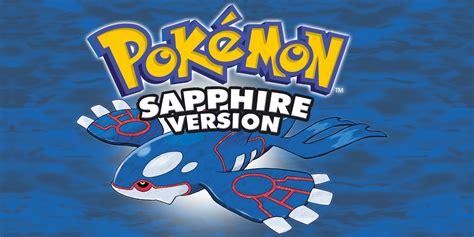 Pokémon Sapphire Game Boy Advance Games Nintendo