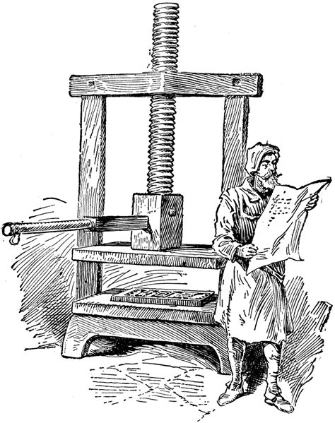 Johannes Gutenberg Printing Press Diagram Email Facebook Google Twitter 0 Comments