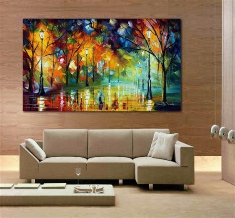 Wandbilder Fürs Wohnzimmer by Wandbilder Wohnzimmer 50 Ideen Wie Sie Die