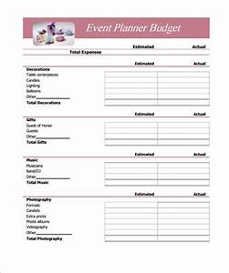sample budget 11 example format With easy budget planner template