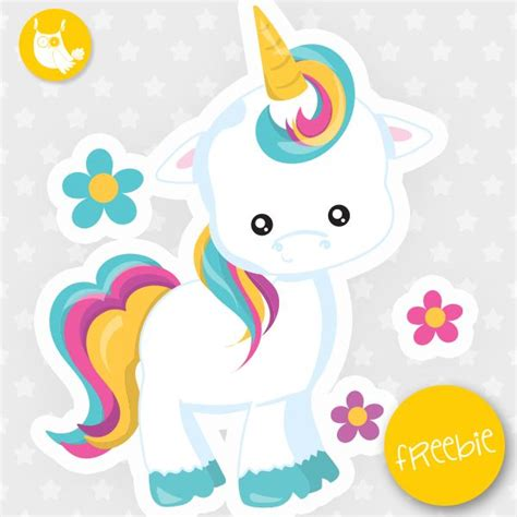 unicorn freebie clip art freebies unicorns clipart