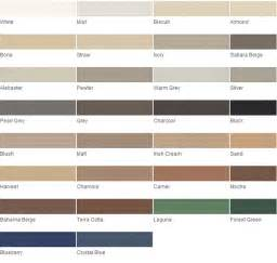 grout color chart images