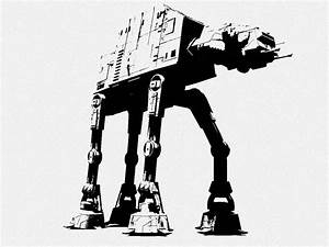AT-AT Stencil by CrimsonAnchors | Paint Me | Pinterest ...