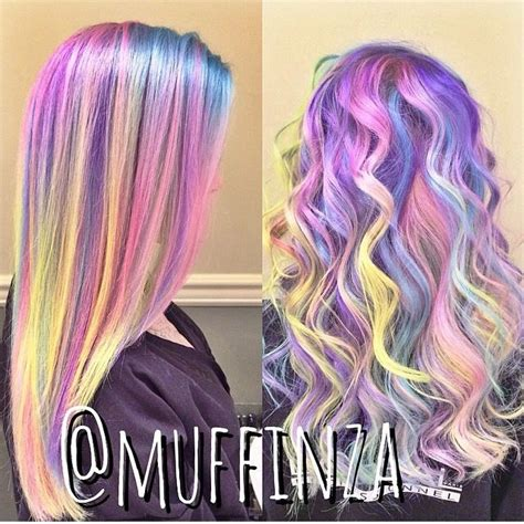 1000 Ideas About Short Rainbow Hair On Pinterest