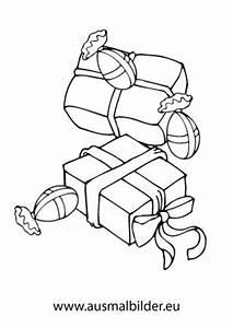 Weihnachtsgeschenke Zum Ausmalen : ausmalbilder weihnachtspakete mit bonbons ~ Watch28wear.com Haus und Dekorationen