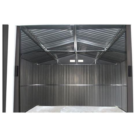 gartenhaus metall anthrazit gartenhaus aus metall 13m 178 plus anthrazit verankerungskit x metal