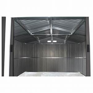 Abri En Kit : abri de jardin m tal 7 06m plus anthracite kit d ~ Premium-room.com Idées de Décoration