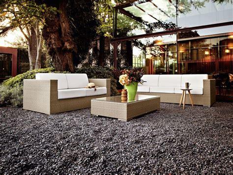 divanetti giardino divano intrecciato 2 posti per giardini e bar sulla