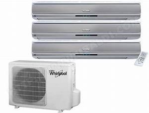 Chauffage Clim Reversible Consommation : climatiseur r versible whirlpool amd063 pas cher ~ Premium-room.com Idées de Décoration