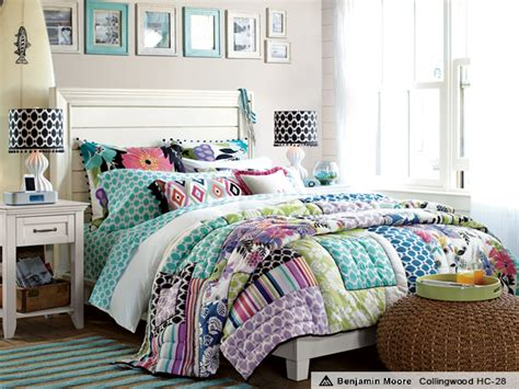 Pink And Green Bedding For Girls, Teen Girls Quilt Bedding