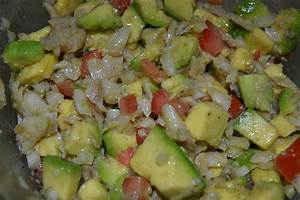 Gazpacho (Puerto Rican Salt Cod Salad)   Delish D'Lites