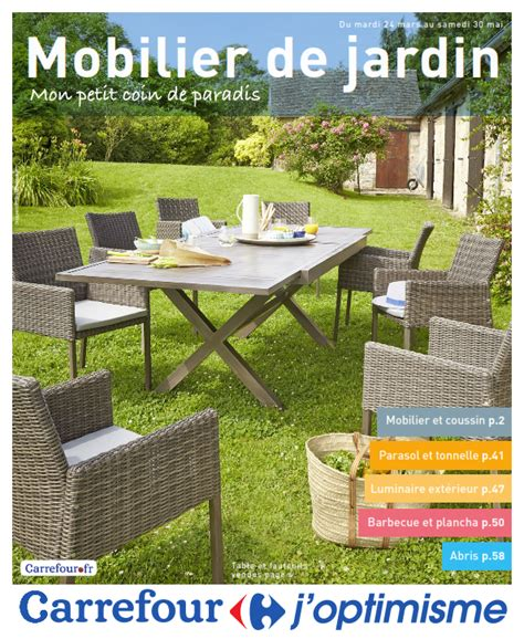 Catalogue Jardin by Carrefour Mobilier De Jardin Cataloguespromo