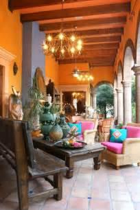 Home Interior Mexico Interior Design In Mexican Style One Decor