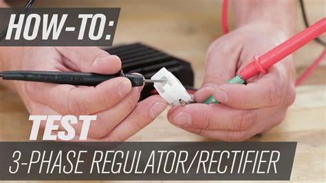 test   phase regulator rectifier youtube
